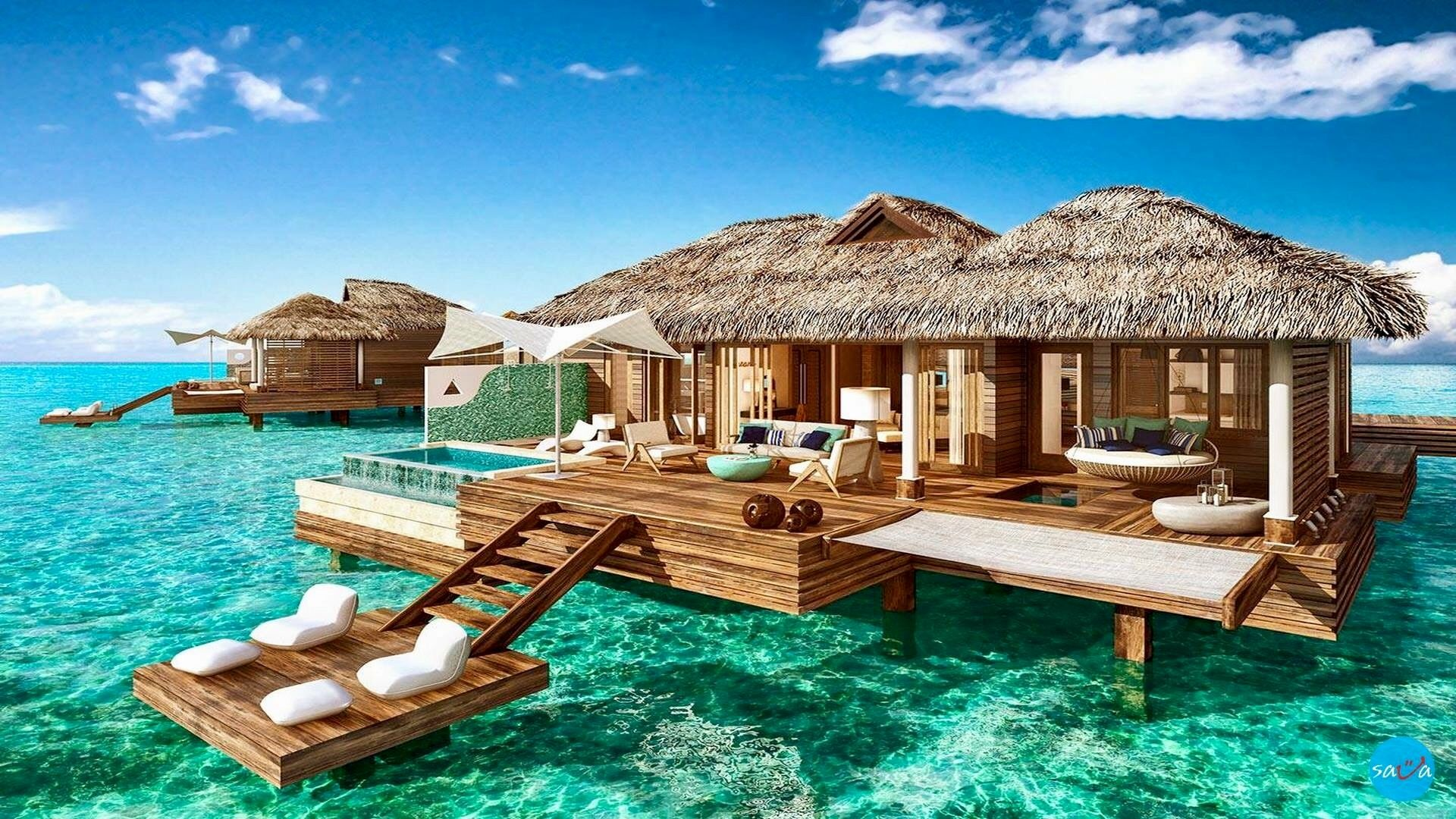Pin by Boris Vasovski on Travel  Water bungalow