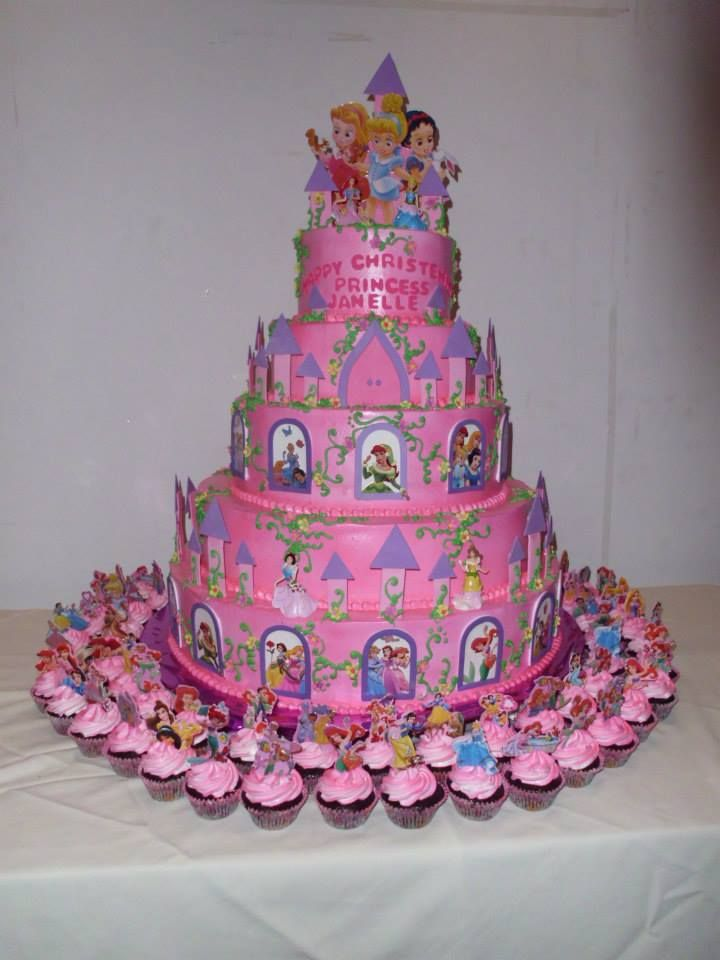 Disney Castle Cake Birthday Party Pinterest Disney Castle Cake