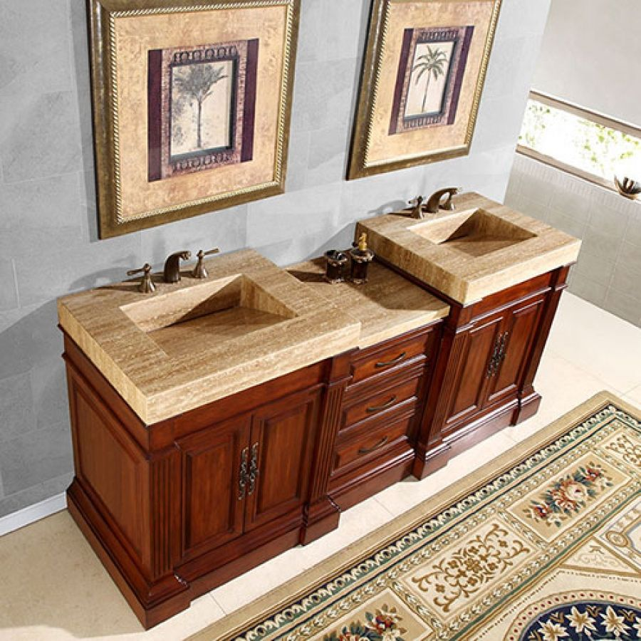 Badezimmer eitelkeit tops double vanity bi level  google search  badezimmer in