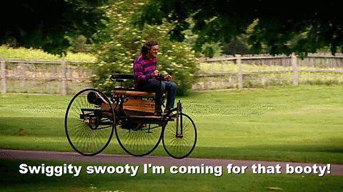 Swiggity Swooty On A Bike Thing Gif Me As A Girlfriend What Is Like Top Gear Estoy aburrida en el hospital y de inspiración no tengo nada, así que aquí hay un libro con memes de kermit. swiggity swooty on a bike thing gif