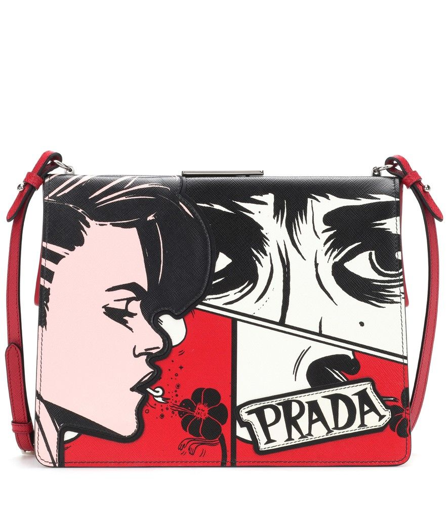2e31cee558ba Prada - Light Frame leather shoulder bag - Make pop-art wit a guiding  principle