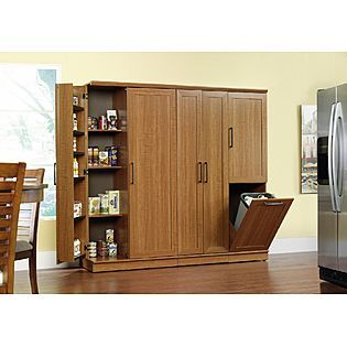 Sauder Storage Cabinet: Keep Clutter Tucked Away At Sears