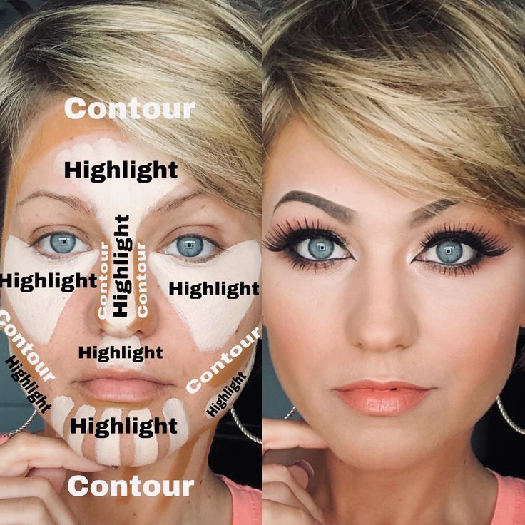 Contour & Highlight with our Complexion Pallet #beauty #style #fashion #hair #makeup #skincare #nail...