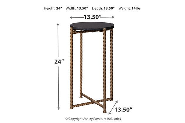 Brycewood Accent Table Ashley Furniture Homestore