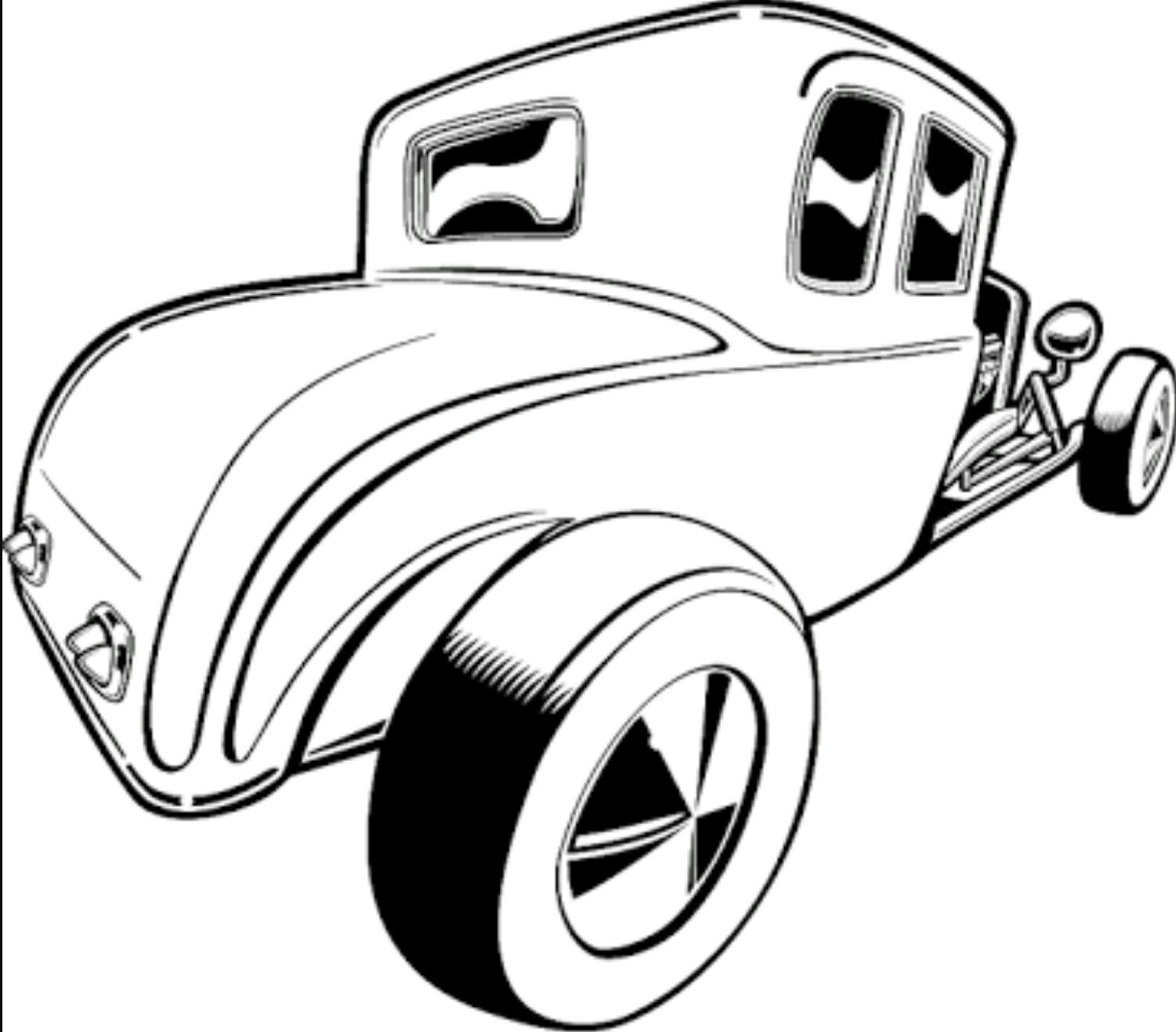 FREE CARTOON HOT ROD CAR CLIPART - ClipArt Best | Projects to Try ...