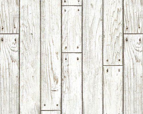 Robot Check White Wood Paneling Wallpaper Shelves White Wood Wallpaper