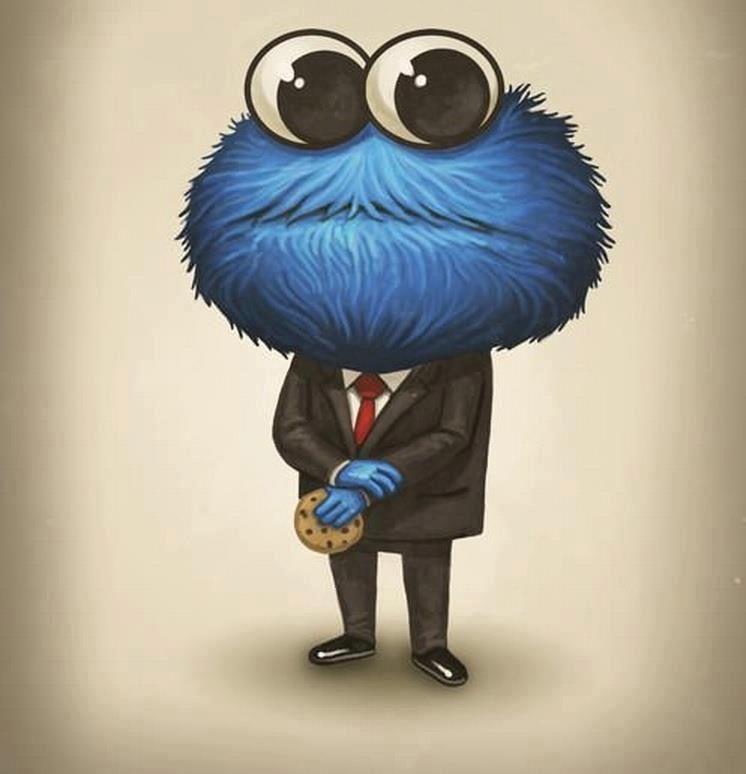 cookie monster illustration