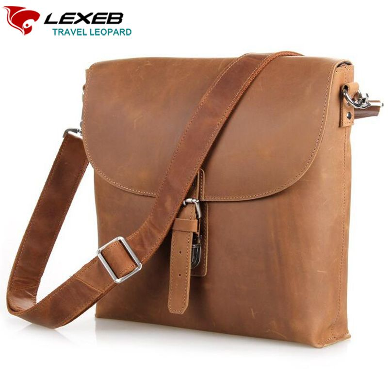... Leather Messenger Bag  uk availability d20e5 cf02d Find More Crossbody  Bags Information about 2016 Rushed New Solid Lexeb Luxury ... cd70faf67df5a