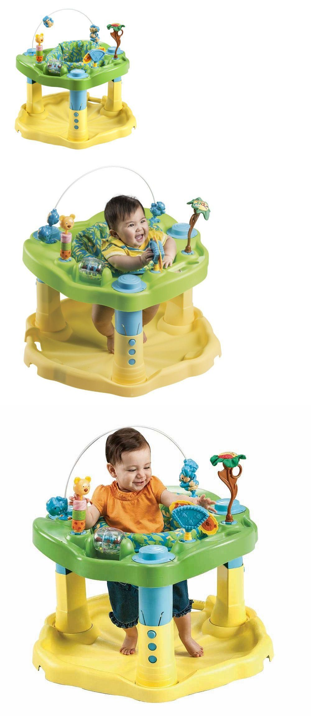 88853c70ee54 Evenflo ExerSaucer Delux Active Learning Center Toddler Baby Play ...