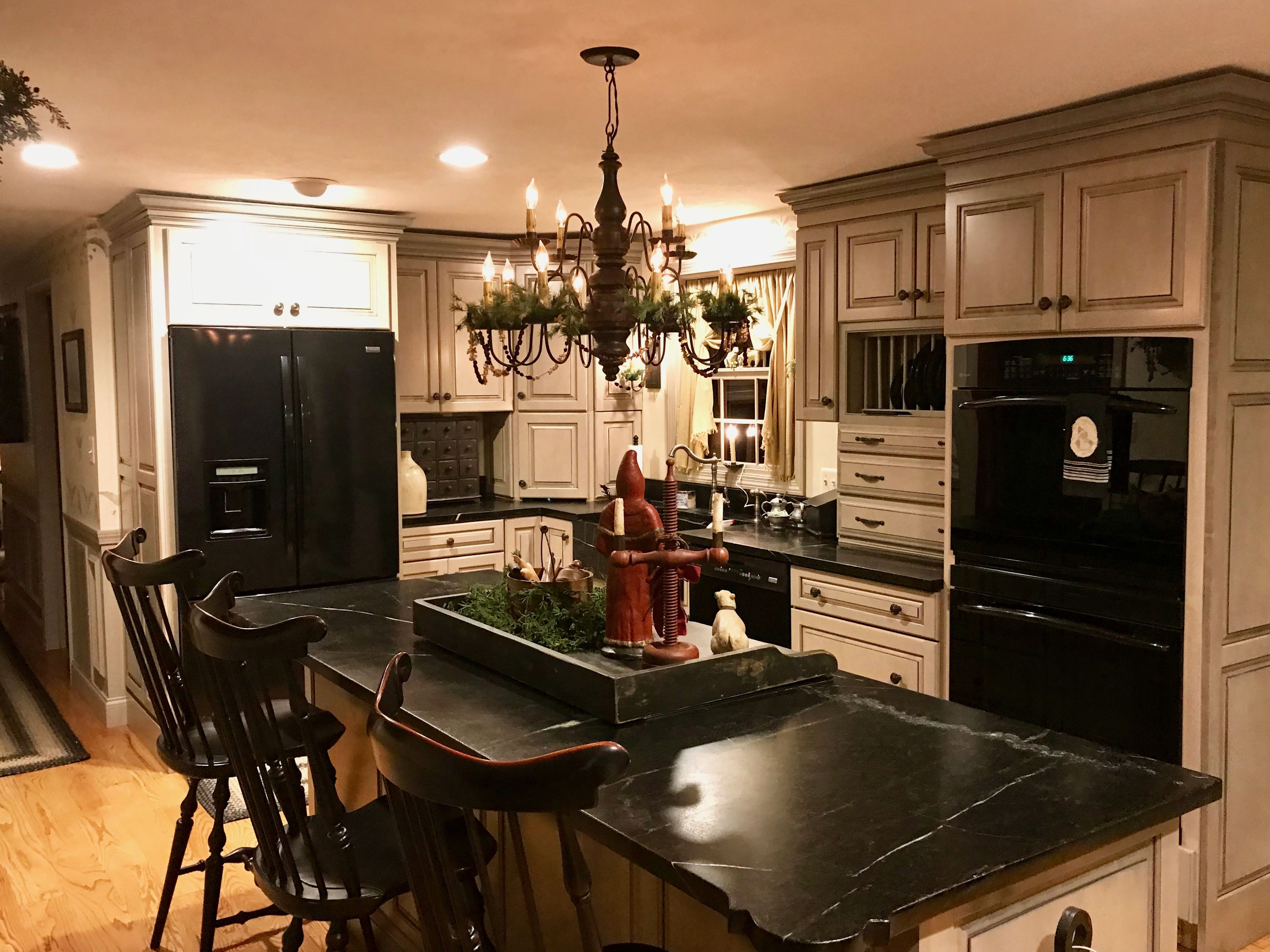My Home In New England Blog Christmas Lovely Colonial Kitchen Kitchen Renovation Kitchen Remodel