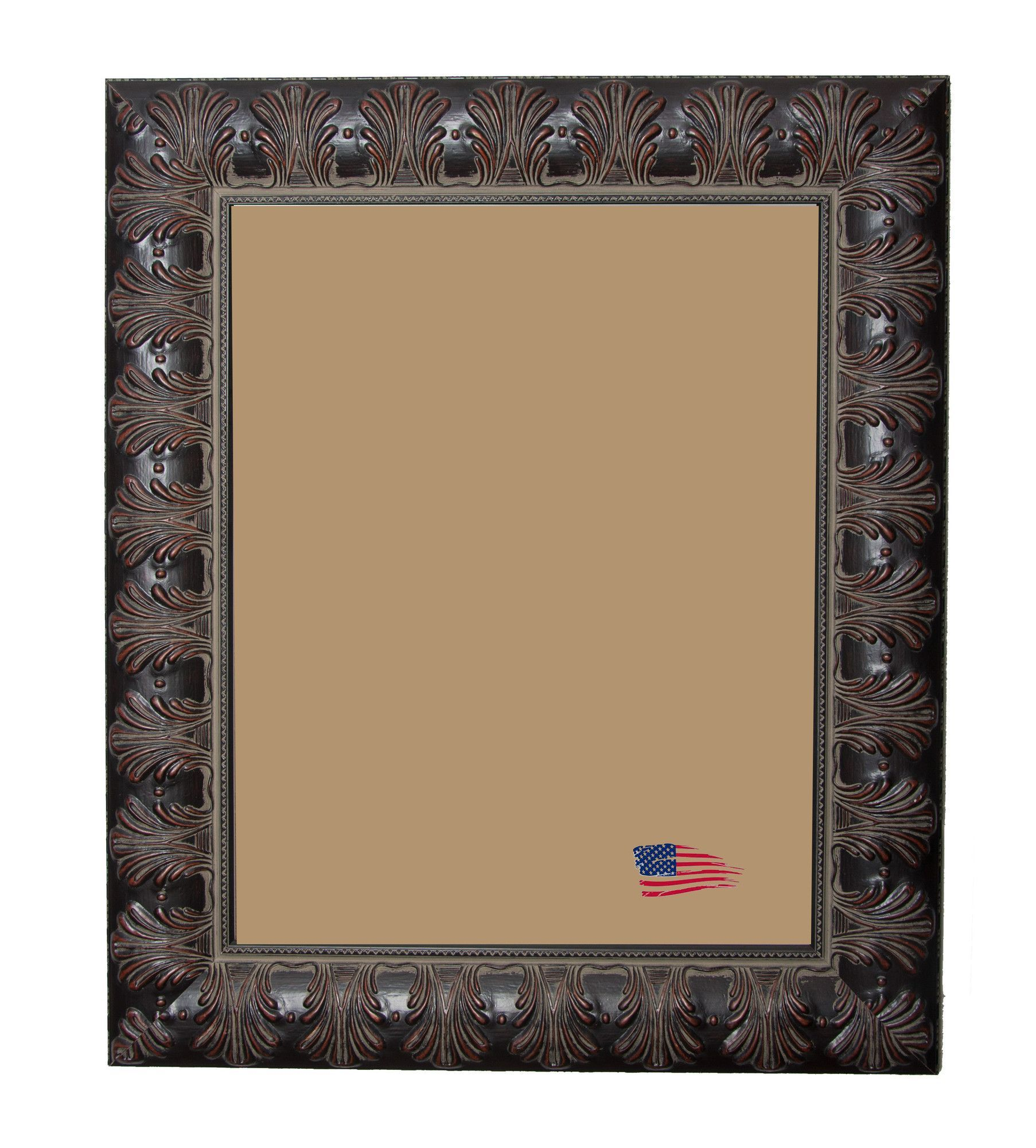 Shane William Feathered Accent Picture Frame