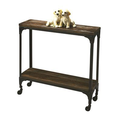 Butler Specialty 2873120 Mountain Lodge Console Table This Table by Butler Specialty is available in a burnt umber wood finish. Part of the Mountain Lodge
