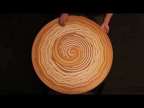 Man Mystifies With What He Does With Clay On A Rotating Table Sand Art Pottery Art Pottery Videos