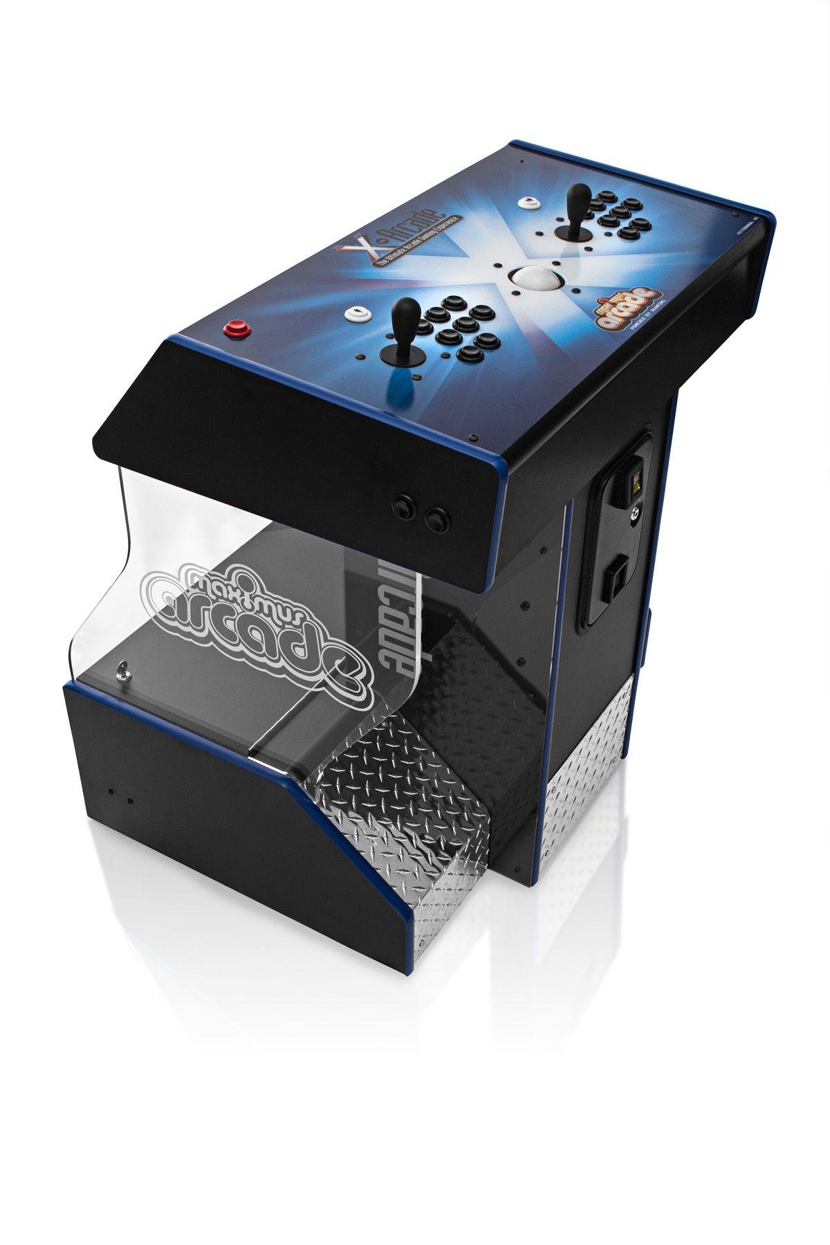 4 Player Arcade Cabinet Kit Simple Lightweight Custom Arcade Cabinet The Blondicade Via