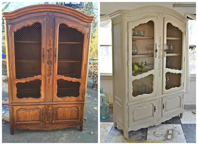 Heir And Space: A Vintage Thomasville French Country Armoire