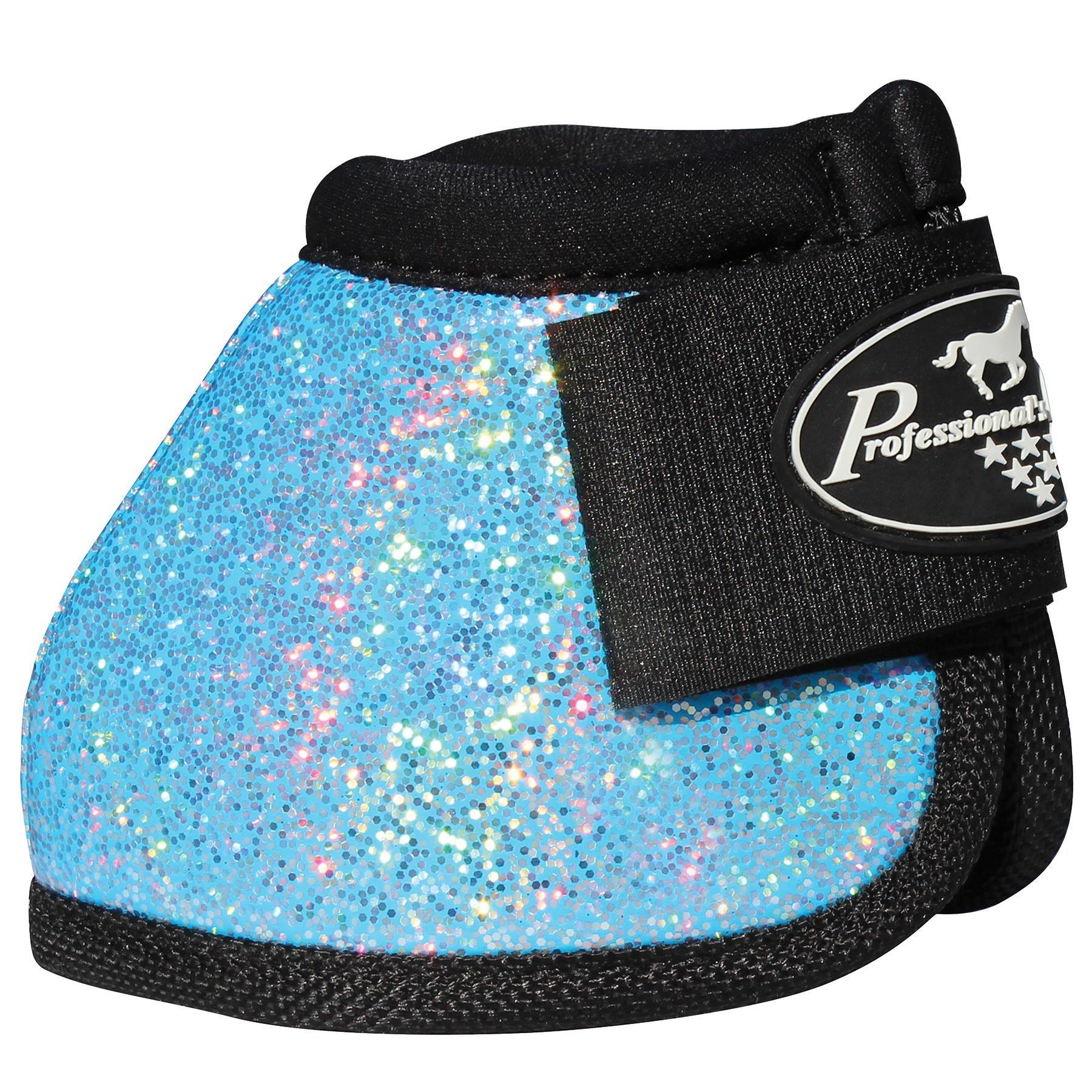 Professional/'s Choice Turquoise Glitter no turn bell boots Medium M Pro Prof