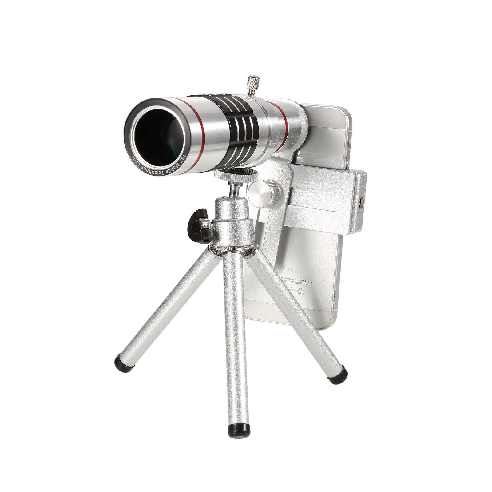 Smartphone Camera Zoom Lens Tripod Kit for iPhone