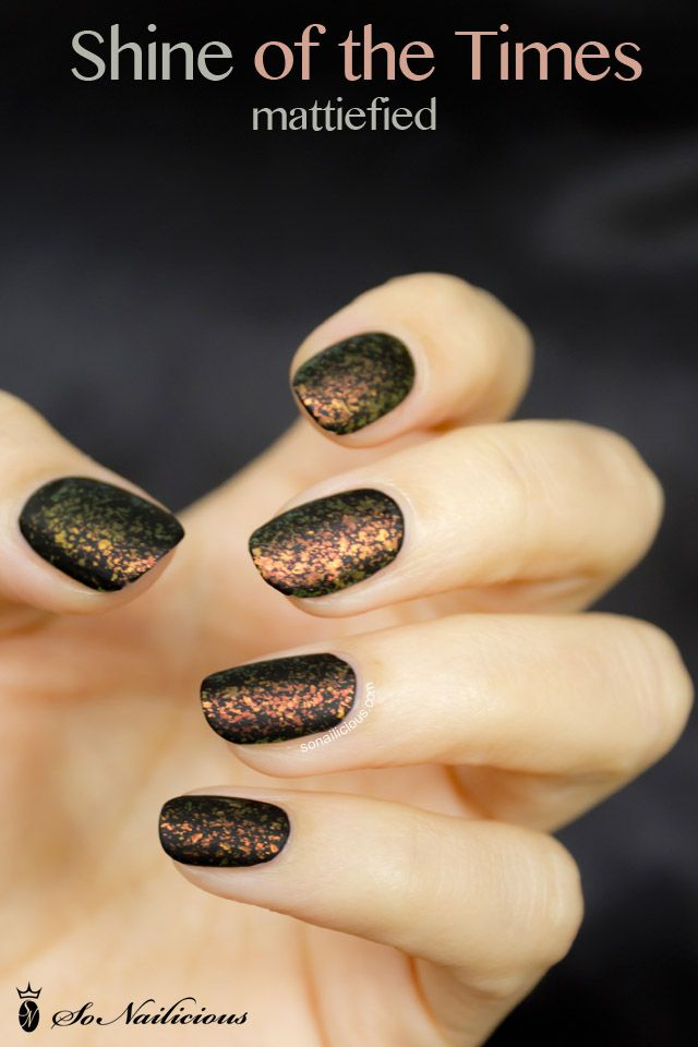 Shine on, Shine of the Times - 28 days of SoNailicious Nails – Day ...