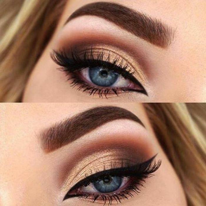 ms informacin de cmo maquillarse los ojos ahumados con instrucciones detalladas y muchas fotos de maquillaje en diferentes tonos - Pintarse Los Ojos