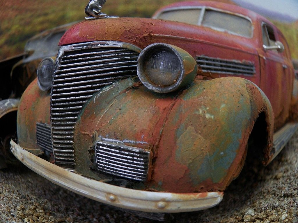 Rusted Car | Take a look at his website and see if you find one you ...