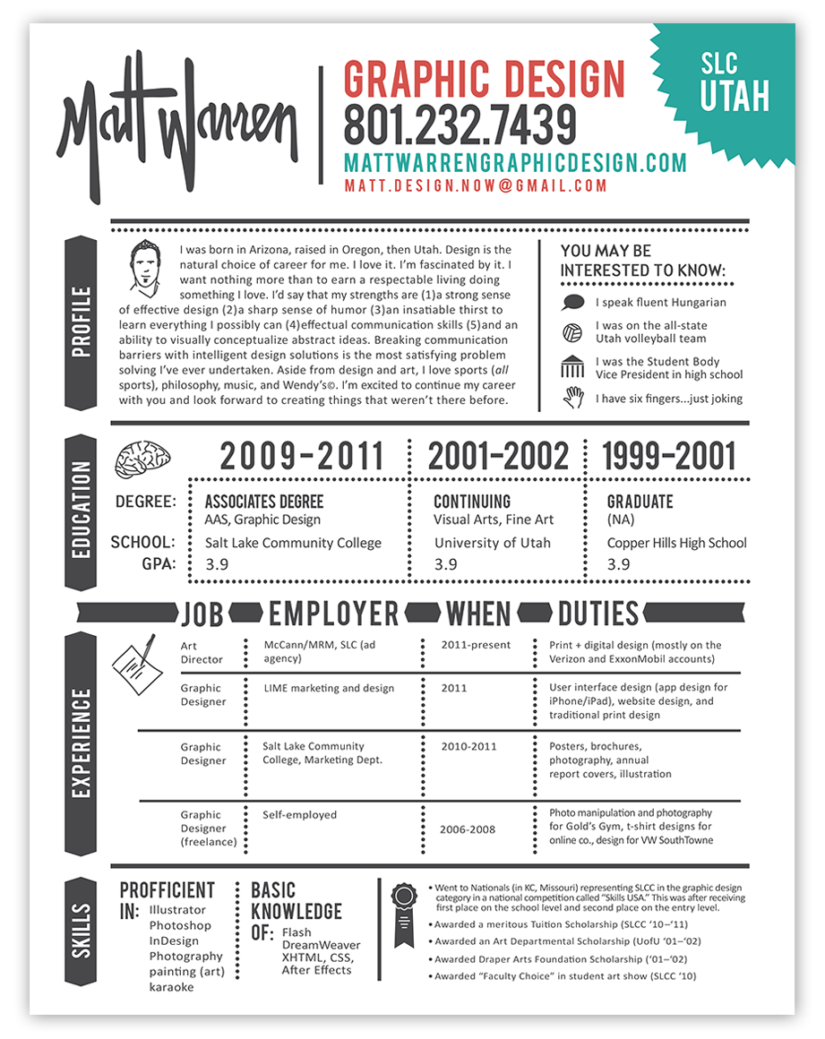 Image Result For Graphic Functional Resume Resume Ideas