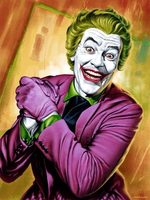 The Original Joker Joker Art Batman Poster Joker