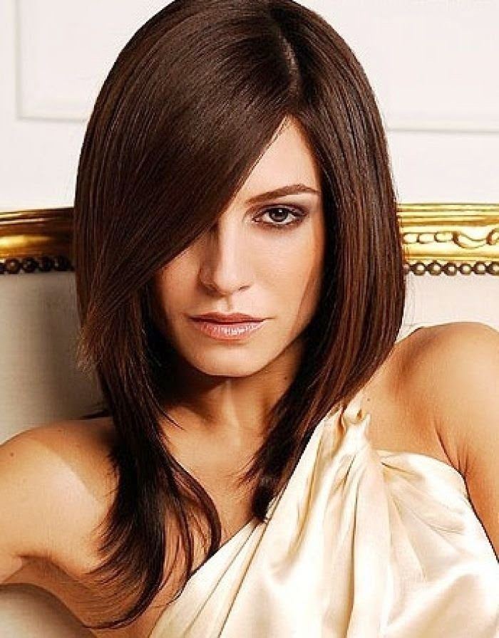 medium long retro hairstyles