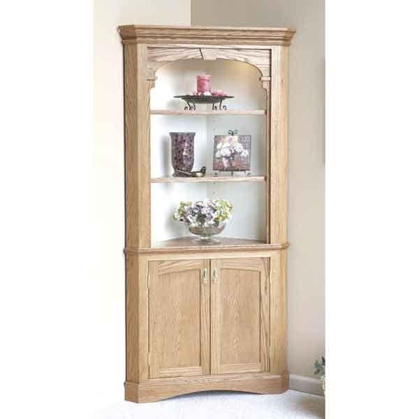 Heirloom Corner Cabinet Woodworking Plan from WOOD ...