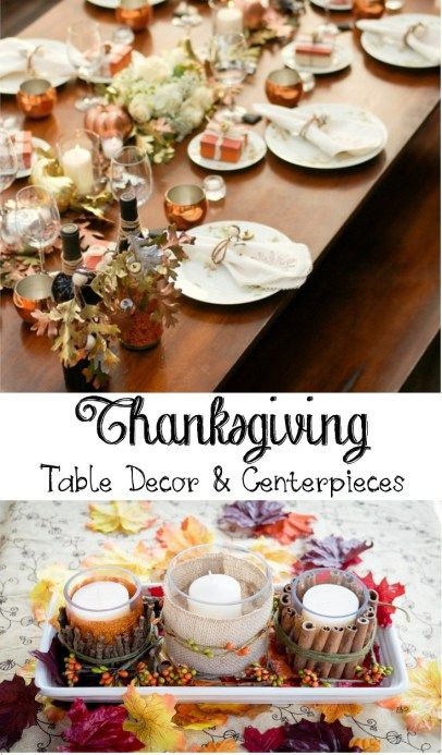 Thanksgiving Table Decoration Ideas - Get inspired for Thanksgiving