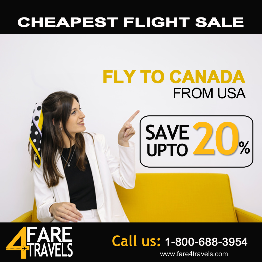 Flights to Canada From USA in 2020 Flight reservation