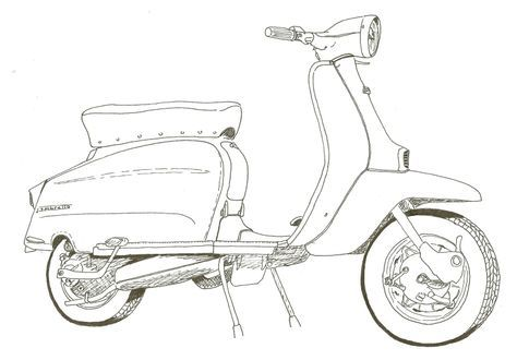 Moped Diagram
