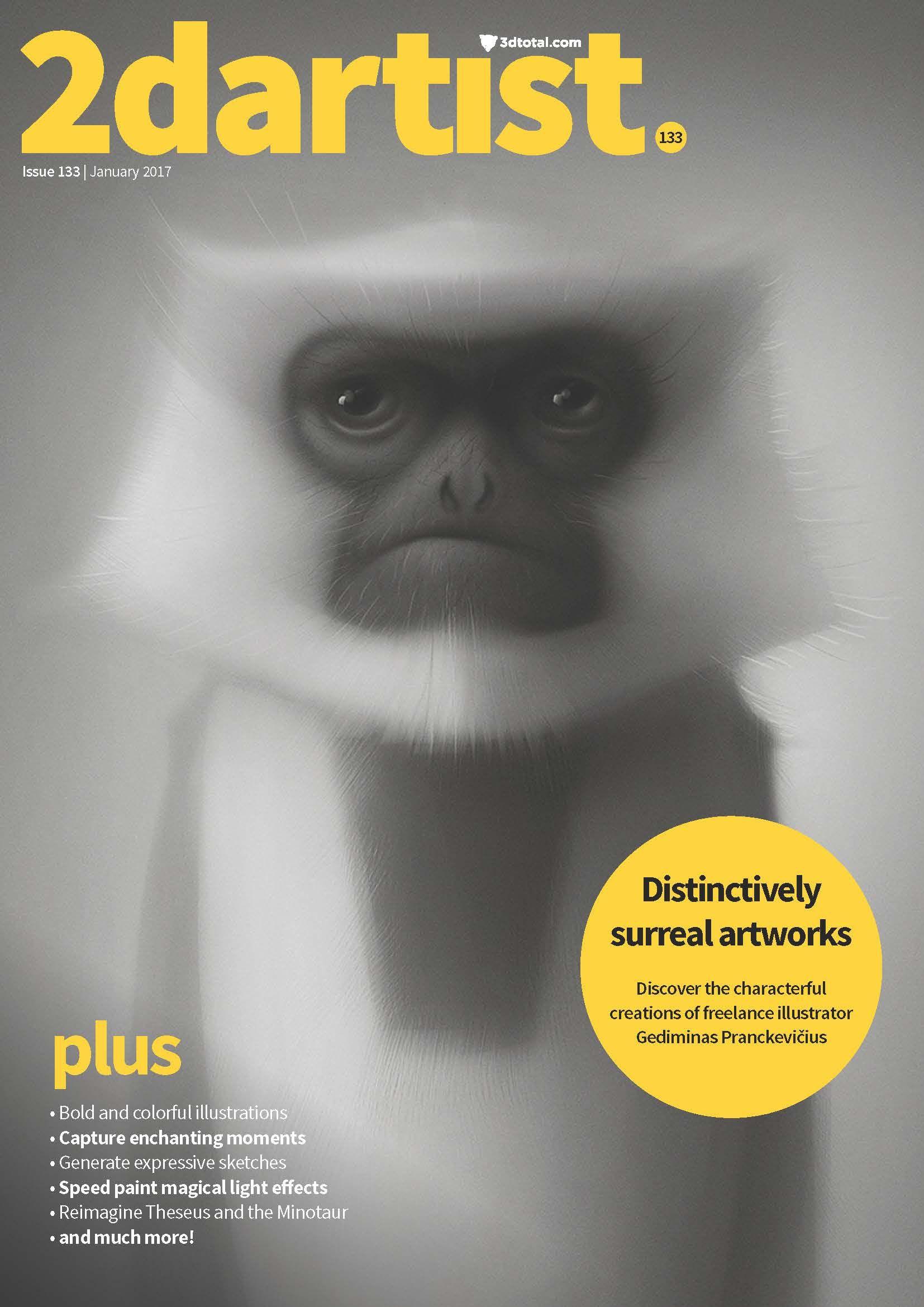 In issue 133 we speak to background designer Kiersten