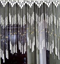 Crazy4Stitching posted Make a sweet room divider of curtain fringe to their -Shades of Pale -Crochet Ideas- postboard via the Juxtapost bookmarklet. #curtainfringe