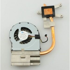 606574 001 Hp Dv6 3000 Laptop Cpu Cooling Thermal Heatsink With
