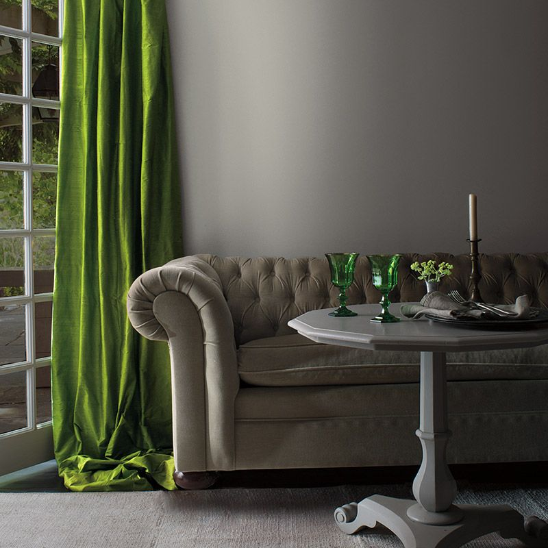 2018 Color Trends Caliente Af 290 Green Curtains Bright Green And Velvet Couch
