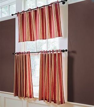 Cafe Curtains With New Decorating Theme s Designs