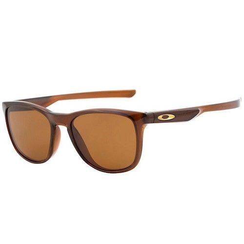 6183f839e23ab Óculos de Sol Oakley Trillbe X Rootbeer D.Bronze seve para qualquer  ocasião
