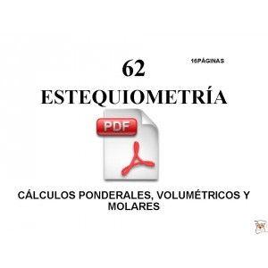Cuaderno de Ejercicios y Problemas resueltos de Estequiometría y ...