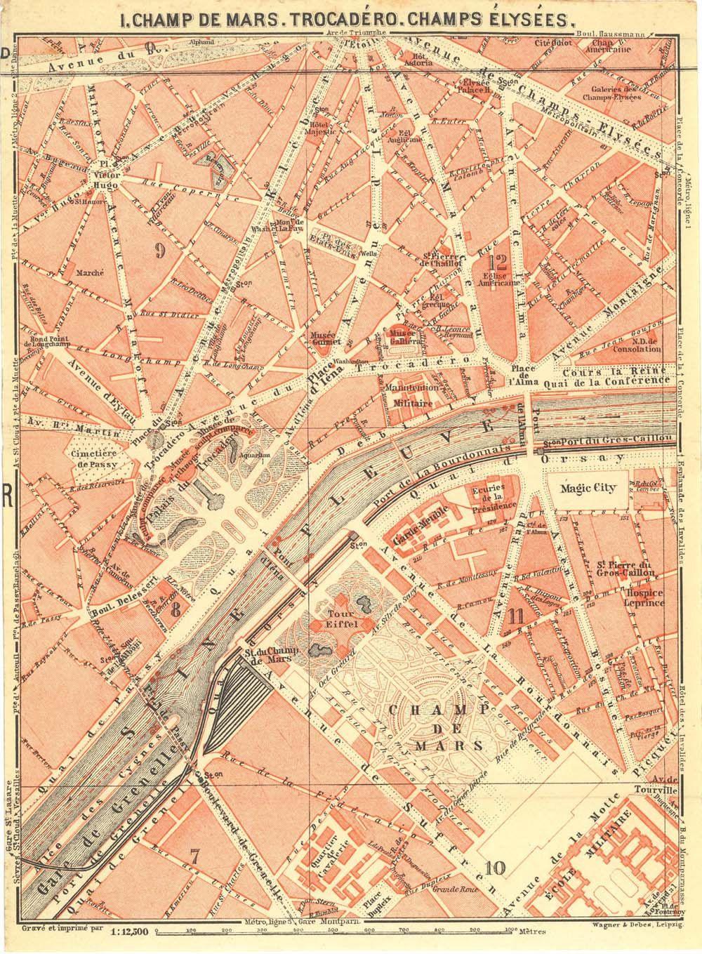 vintage street maps Google Search maps Pinterest Paris city