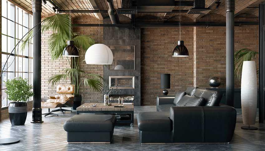 15 Ispirazioni Per Arredare Casa In Stile Industrial Camere Soppalco Arredamento Arredamento Industriale