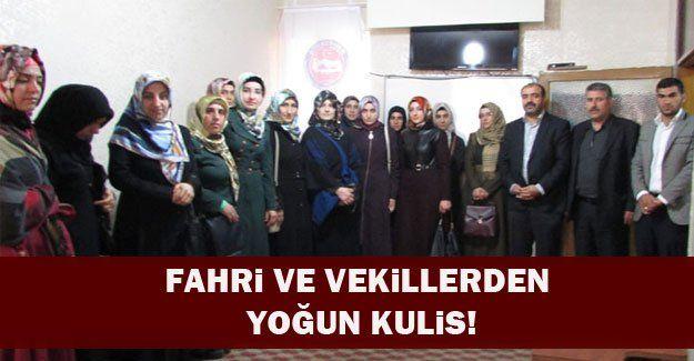 Vekil ve Fahrilerden Diyarbakır Diyanet-Sen'e ziyaret
