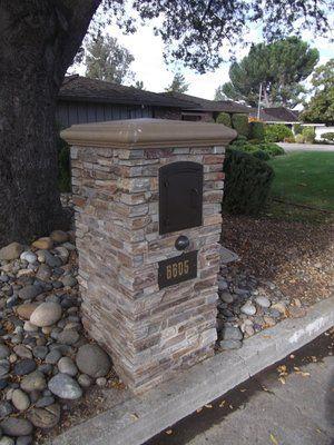 mailbox. lori gadelak stone