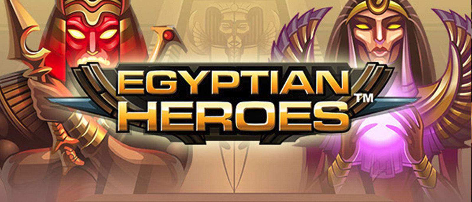 Neuer Beitrag EGYPTIAN HEROES hat sich auf CASINO VERGLEICHER veröffentlicht  http://go2l.ink/1HUZ  #EGYPTIANHEROES, #EgyptianHeroesSlot, #NetEnt, #NetentSlots, #SlotSpiele
