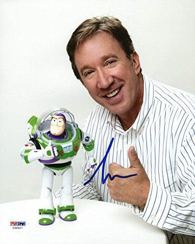 Tim Allen Toy Story Buzz Signed Authentic 8X10 Photo Autographed PSA/DNA #U36927 @ niftywarehouse.com