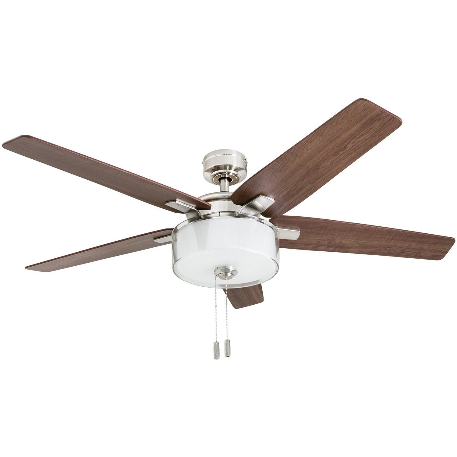 Prominence Home Cicero 52 Modern Brushed Nickel Led Ceiling Fan
