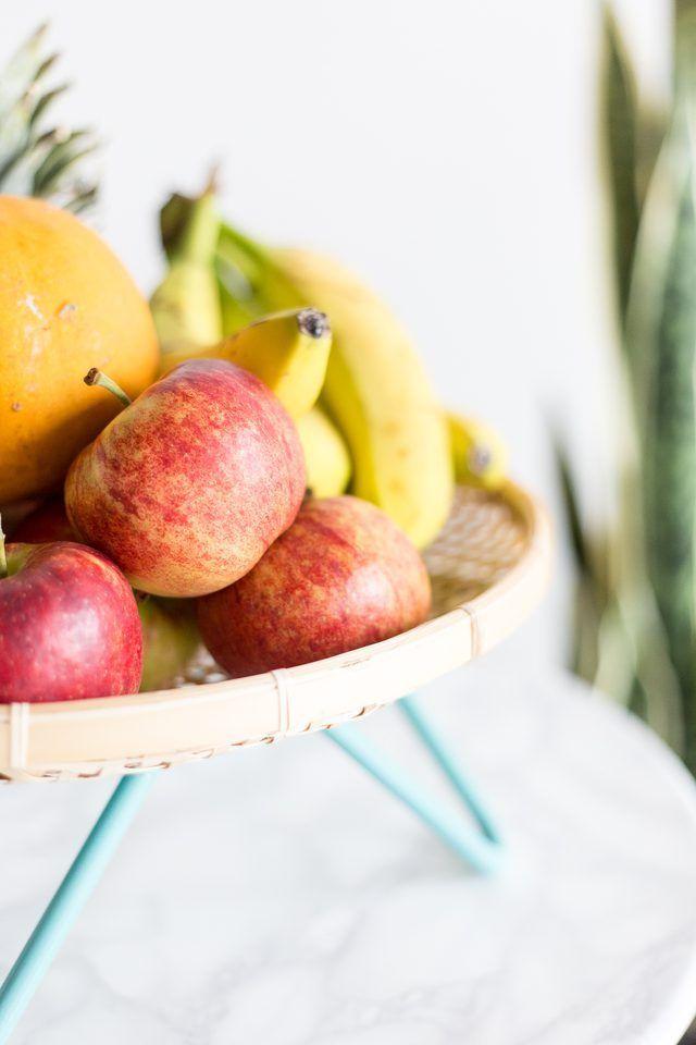 Как сделать корзину для фруктов середины века своими руками »вики полезно  Падение для DIY