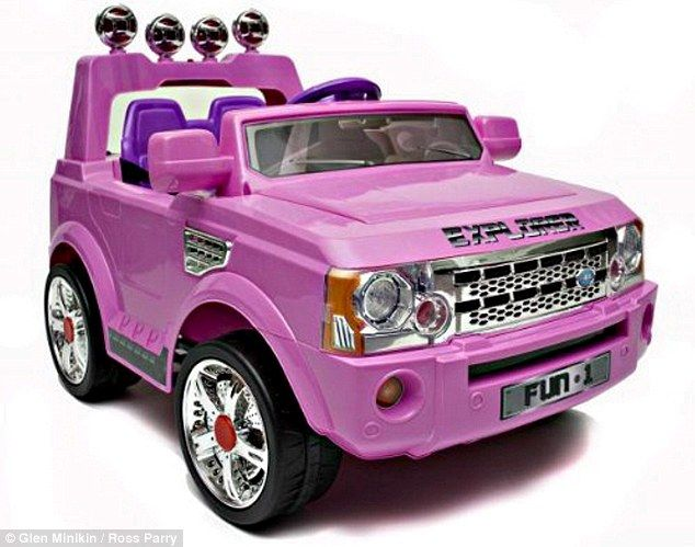 a toy jeep car for girls that you can drive in google search