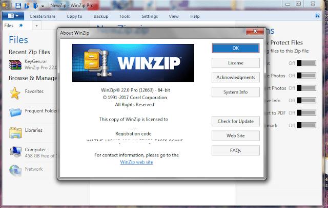 WinZip Pro 23 0 Build 13300 Crack & License Key Free