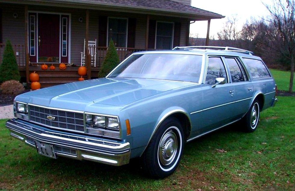 1977 Chevy Impala Station Wagon Chevrolet Impala Chevy Impala