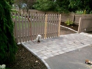 Removable Fence Post how to build a removable fence panel | fencing ideas and sources